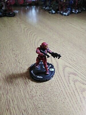 £1 • Buy Halo Actionclix Red Spartan With Twin SMGs