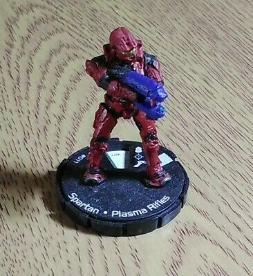 £1 • Buy Halo Actionclix Red Spartan With Plasma Rifle