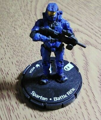 £1 • Buy Halo Actionclix Blue Spartan With Battle Rifle