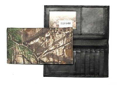 $19.99 • Buy Realtree Camo Roper Wallet / Long Wallet - Nylon And Leather