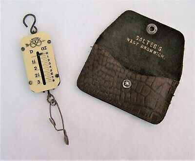 £19.99 • Buy SALTER LETTER BALANCE SCALES 1923 - 1940 POST OFFICE C/w ORIGINAL POUCH