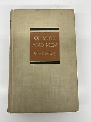 £15.27 • Buy Vintage 1937 Of Mice And Men By John Steinbeck 1st Edition, Hardcover, RARE