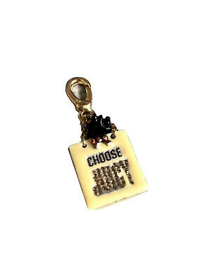 £8.99 • Buy Gold Juicy Couture Bracelet Bag Charm, Choose Juicy Dog Shopping Bag With Dog