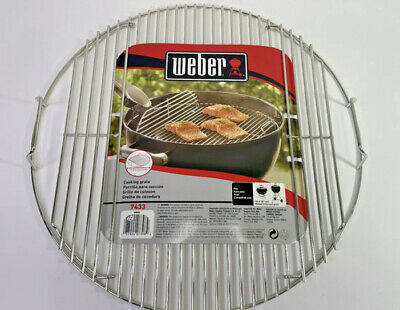 $ CDN41.54 • Buy Weber 18  Kettel Charcoal Grill POLISHED STAINLESS STEEL Hinged Cooking Grate