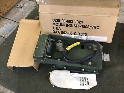 $145 • Buy Military Radio Nos R-442 Receiver Mount + Cable Mt-1898 Carc. M151 M151a1 M151a2