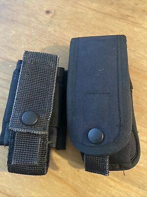 £19.95 • Buy Ex Police 2 X Arktis Black Molle Pouches. Used. 1540.