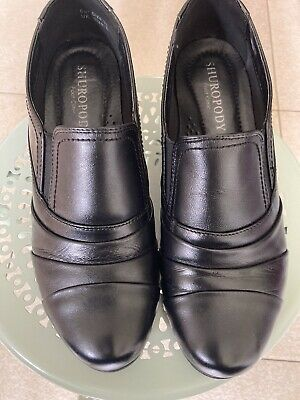£2 • Buy Womens Black Leather Arch Support Shoes Size 6 From Shuropody
