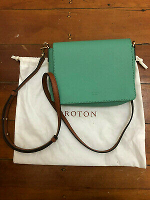 AU80 • Buy Oroton Liberty Fold Clutch - Emerald - As-new Condition