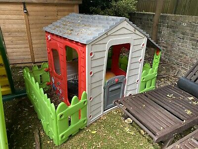 £30 • Buy Chad Valley Farm House Playhouse, Wendy House