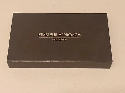 £14.47 • Buy PIMSLEUR APPROACH SPANISH I ( LEVEL 1 ) GOLD EDITION 16 CD's 30 LESSONS READING