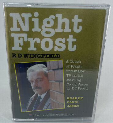 £5 • Buy Night Frost By R. D. Wingfield - New & Sealed Cassette/Tape Audio Book - B3