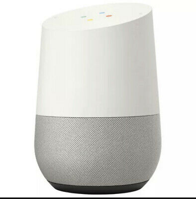 AU95.10 • Buy Google Home Smart Assistant And Wireless Speaker (WiFi) - White