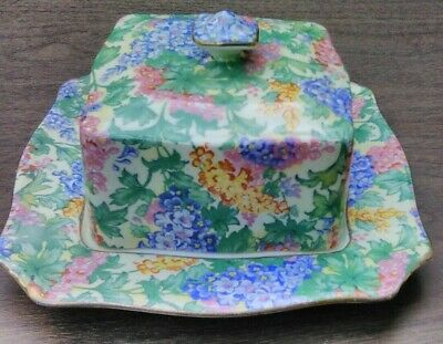 $ CDN37.70 • Buy Chintz Royal Winton Grimwades Square Covered Butter / Cheese Dish - Pelee Island