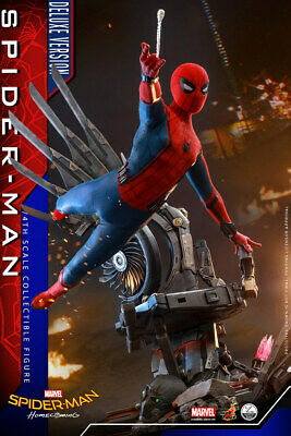 $ CDN805.65 • Buy Hot Toys QS015 Spider-Man Homecoming 1/4 Scale Figure Deluxe Version Ready Ship