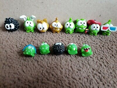 £9 • Buy Cut The Rope Mini Figures X 13 Larger And Smaller Squishie Ones