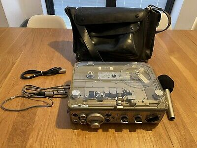 £255 • Buy Nagra IV-S Kudelski Switzerland Tape To Tape Plus Bag And Leads And Mike