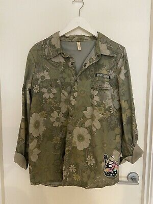AU400 • Buy Spell And The Gypsy Collective Eden Camo Jacket Size XL