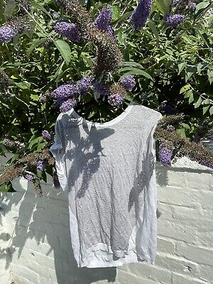 £2.50 • Buy The White Company Linen Knit Top UK10