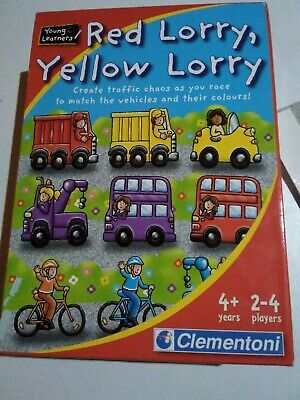 £0.99 • Buy Red Lorry, Yellow Lorry Young Learners Traffic Game, Cars, Bikes