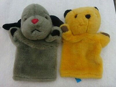 £7.99 • Buy Official Sooty & Sweep Hand Puppets Sweep Has Working Squeaker