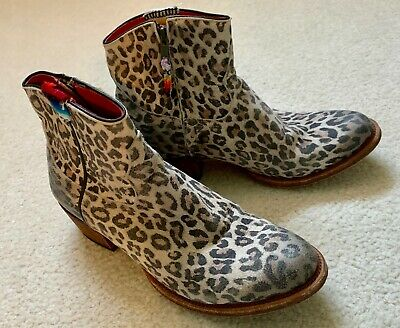 $198.95 • Buy Macie Bean Boots Womens Animal Print Ankle Style M3022 Size Sz 8.5 M