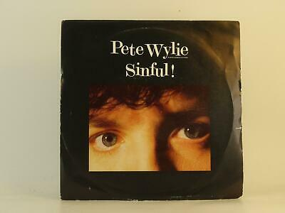 £3.41 • Buy PETE WYLIE SINFUL! (56) 2 Track 7  Single Picture Sleeve MDM RECORDS