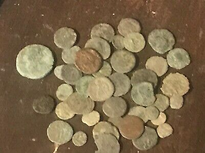 £27 • Buy 45 X Roman Coin Nice Detail Metal Detecting Finds UnResearched As Found