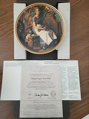 $ CDN37.77 • Buy Edwin M. Knowles Collector Plates From Norman Rockwell