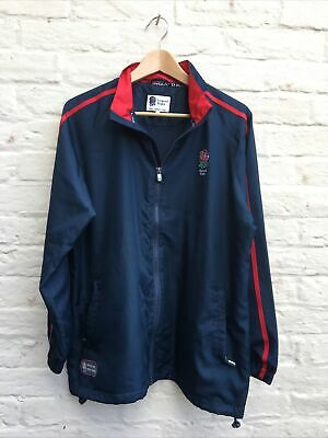 £10 • Buy ENGLAND Rugby Football Union Official Training Jacket Six Nations LARGE