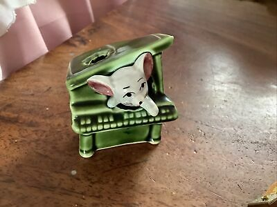 £1.99 • Buy Vintage Napco Mouse In A Piano Foot In Foot Out Series Japanese Ceramic Figure 1