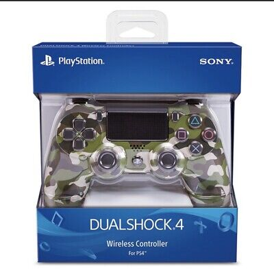 AU93.59 • Buy BRAND NEW AUTHENTIC Sony PlayStation 4 PS4 Dualshock 4 Controller-Green Camo