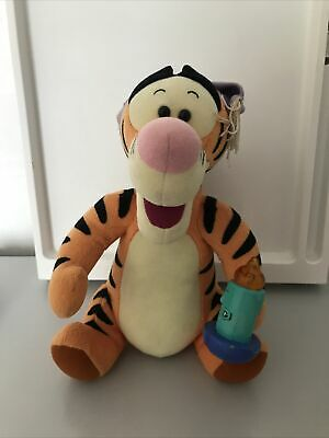 £4.99 • Buy 1998 Tigger With Light Candle And Night Cap WINNIE THE POOH DISNEY SOFT TOY
