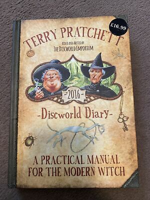 £18.99 • Buy Terry Pratchett's Discworld 2016 Diary: A Practical Manual For The Modern Witch
