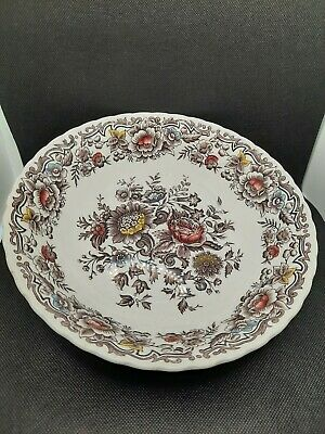 £11.75 • Buy VINTAGE RIDGWAY IRONSTONE STAFFORDSHIRE - Clifton Pattern 10 Inch Large Bowl