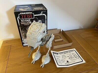 $ CDN51.93 • Buy Vintage Star Wars AT-ST Scout Walker 1983 ROTJ Boxed With Instructions