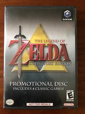 £43.26 • Buy Zelda Collector's Edition Gamecube (complete W/ Disc, Case, And Manual)