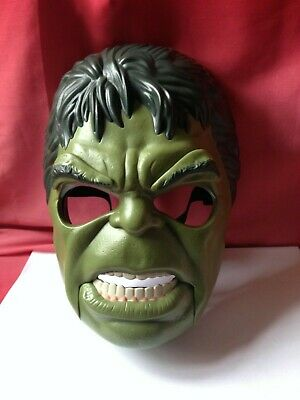 £1.99 • Buy Marvel Hulk Dress Up Head Face Mask With Moving Mouth