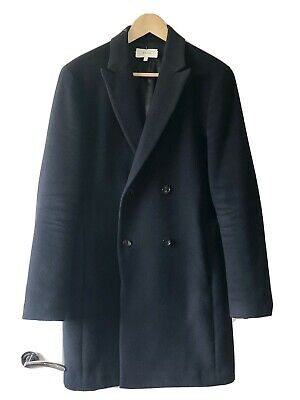 £67 • Buy Mens Reiss Double Breasted Coat - Small
