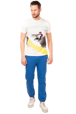 $ CDN1.71 • Buy MARKUS LUPFER T-Shirt Top Size L Printed Surfing Coated Made In Portugal