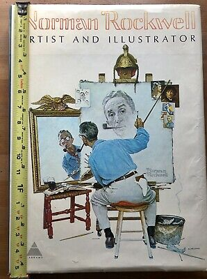 $ CDN25.18 • Buy Norman Rockwell Artist And Ilustrator Coffee Table Book,includes Prints, 1970