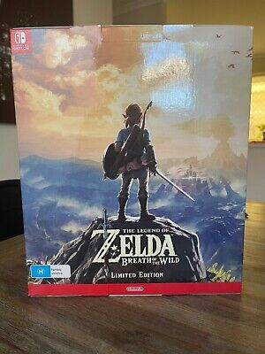 AU199 • Buy Zelda Breath Of The Wild Limited Collectors Edition Nintendo Switch NEW