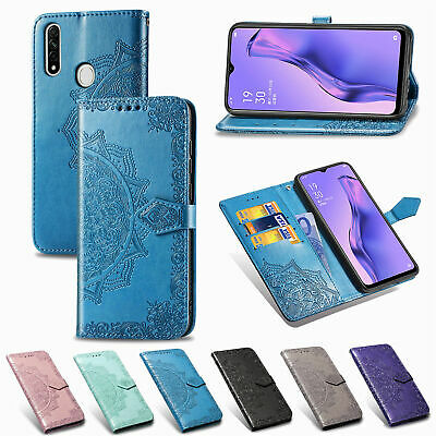 AU9.59 • Buy For OPPO A57 A52 A31 A8 Magnetic Flip Stand Card Wallet PU Leather Case Cover