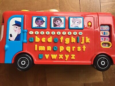 £8 • Buy Vtech Playtime Bus Learn Phonics, Numbers, Alphabet. Early Learning Preschool