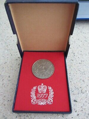 £1.99 • Buy 1977 Queens Silver Jubilee Boxed Coin