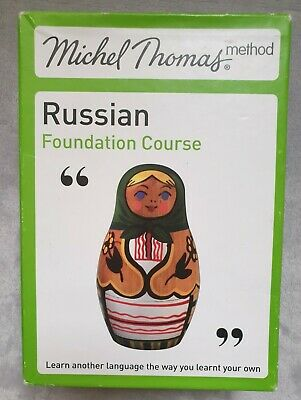 £24.99 • Buy Russian Foundation Course (Learn With The Michel Thomas Method) 8 CD's
