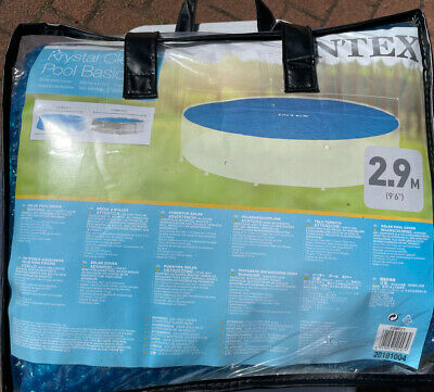 £2.20 • Buy Intex Solar Pool Cover (round, Fits 10ft Pool)