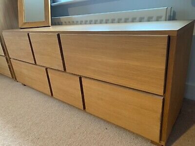 £250 • Buy Solid Oak Chest Of Drawers Used