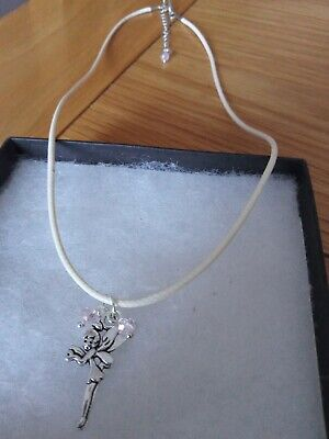 £1.50 • Buy Tinkerbell Fairy Pendant On Cord 18  Necklace