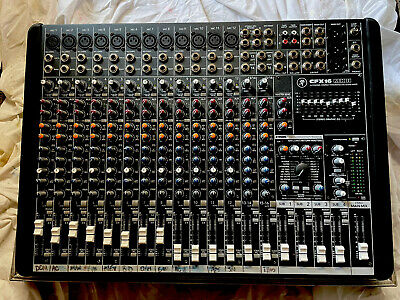 £101 • Buy Mackie CFX16 Mk2 - 16 Channel Mixing Desk With FX In Hardcase