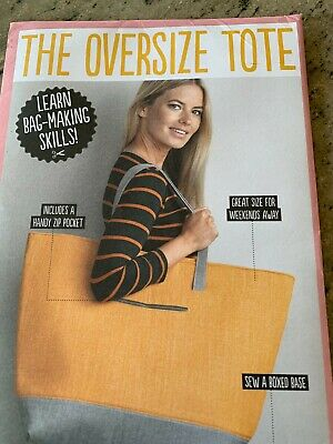 £2.50 • Buy The Oversize Tote Pattern
